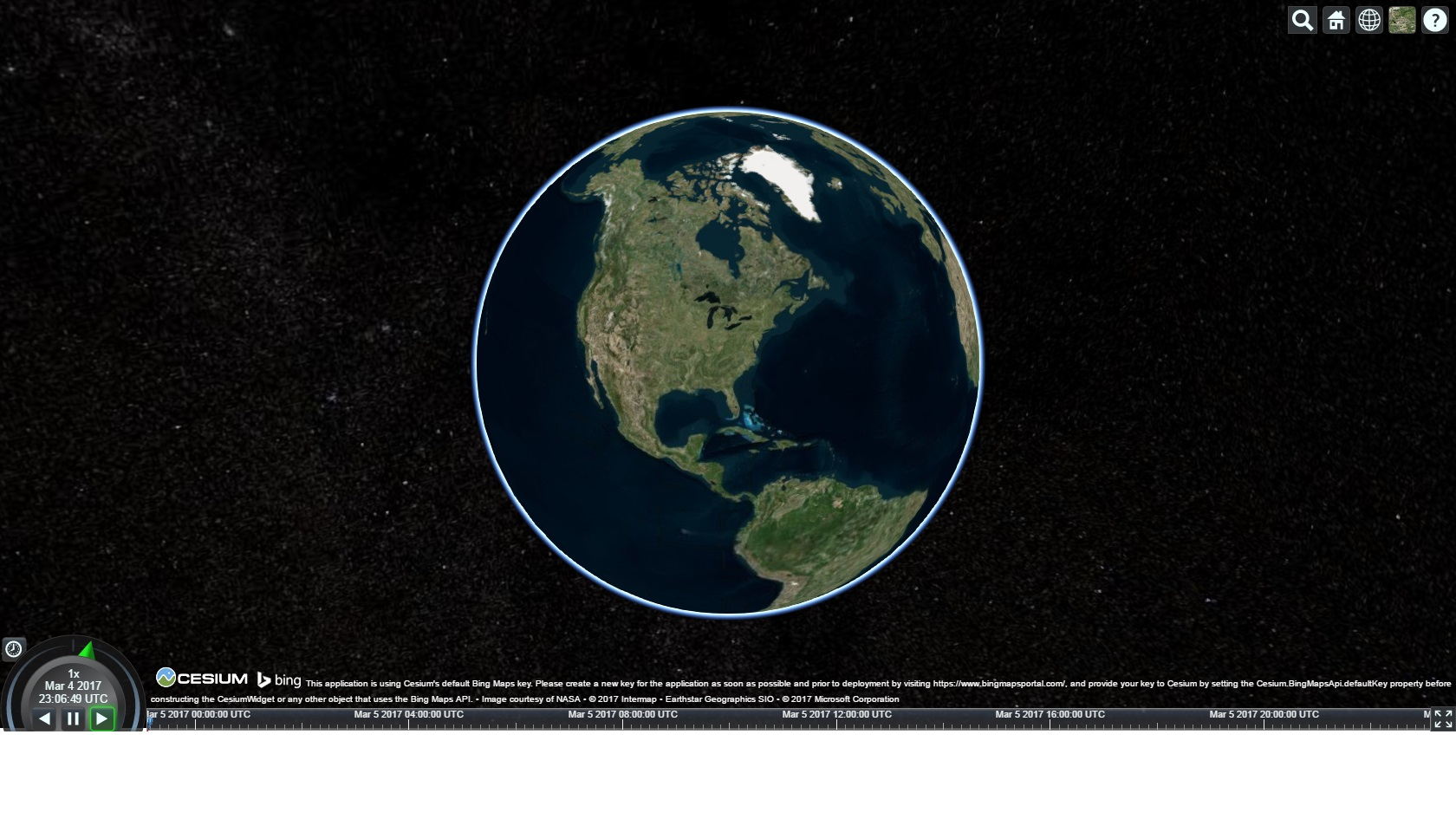 Declaratively Rendering Earth in 3D, Part 1: Building a